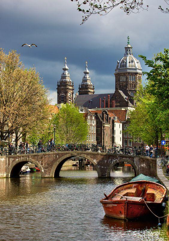 Destinatii creative: Amsterdam
