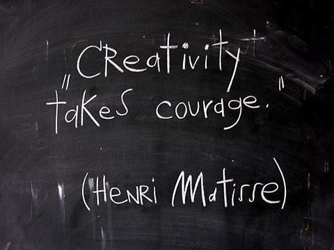 curajul: cel mai mare inamic al creativitatii